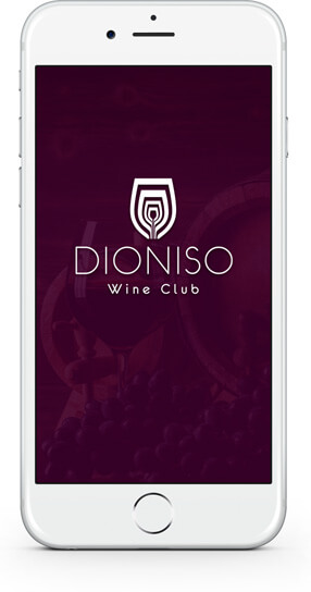 Aplicativo Dioniso Wine Club